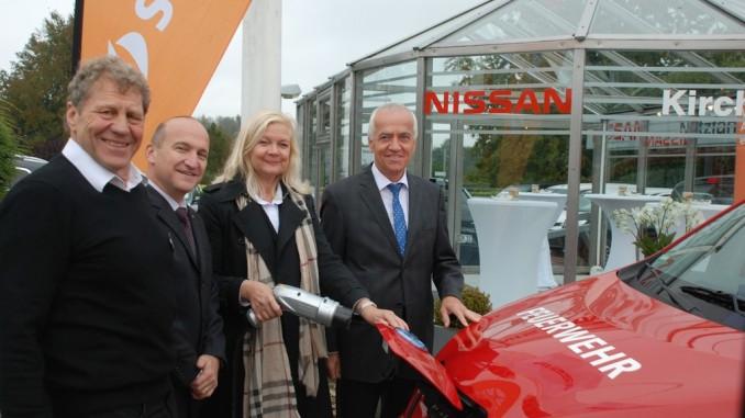 Nissan eröffnet Schnell-Ladestation in der Nordeifel. © spothits/Nissan