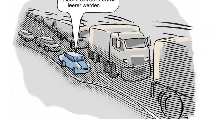 Richtig auf die Autobahn auffahren. © spothits/Goslar Institut