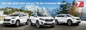"""""""Crossover-Wochen"""" bei Kia. © spothits/Kia"""