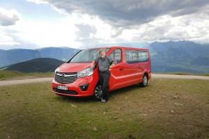 Opel Vivaro meistert Messners 15. Achttausender. © spothits/Opel