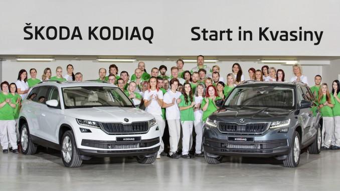 Skoda startet Kodiaq-Produktion. © spothits/Skoda