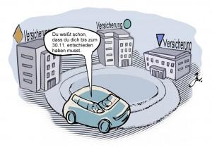 Studie untersucht Versicherungswechsel. © spothits/Goslar Institut