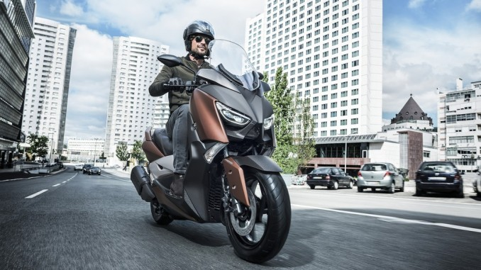 Yamaha X-Max 300 löst den 250er ab. © spothits/Yamaha