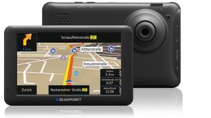 Blaupunkt integriert Dashcam in Navi. © spothits/Blaupunkt