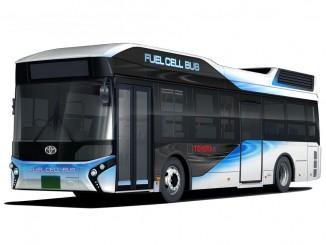 Toyota verkauft Brennstoffzellenbus. © spothits/Toyota