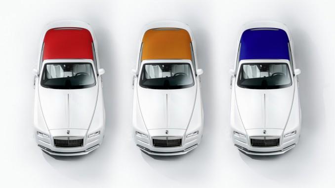Rolls-Royce Dawn von der Mode inspiriert. © spothits/Rolls-Royce