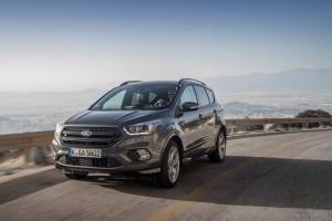 Ford Kuga: Optisch und technisch verjüngt. © spothits/Ford