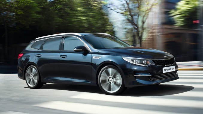 Kia Optima Sportswagon auch in Business-Versionen. © spothits/Kia