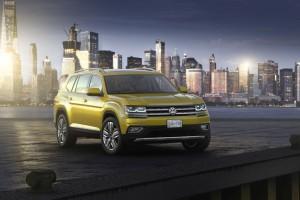 Volkswagen Atlas: Eine schwere Last ruht auf seinen Schultern. © spothits/Volkswagen