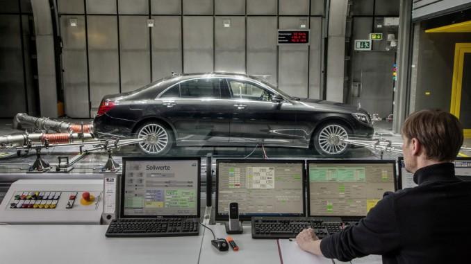 Mercedes-Benz S-Klasse: Klimaanlage arbeitet ab sofort mit Kohlendioxid. © spothits/Auto-Medienportal.Net/Daimler