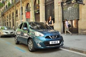 Nissan vermittelt Car-Sharing mit dem Micra. © spothits/Auto-Medienportal.Net/Nissan
