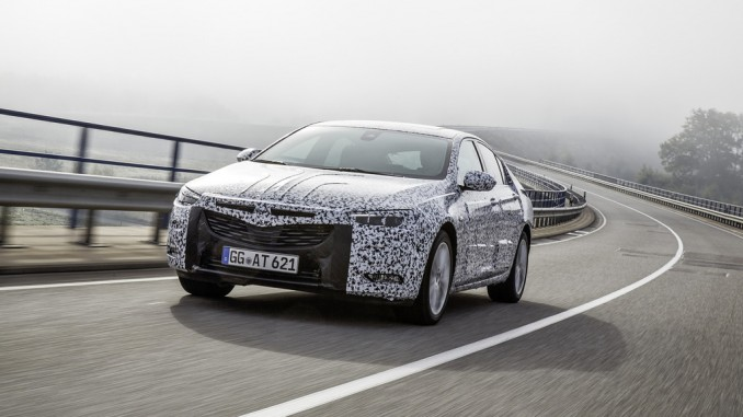 Opel stimmt den Insignia Grand Sport ab. © spothits/Opel