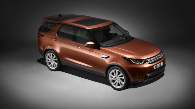 Land Rover Discovery auf Deutschlandtour. © spothits/Land Rover
