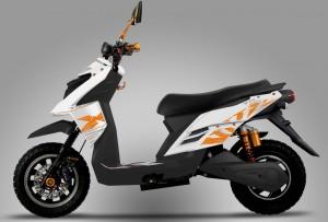 Elektro-Scooter zum Sparpreis. © spothits/KSR Group
