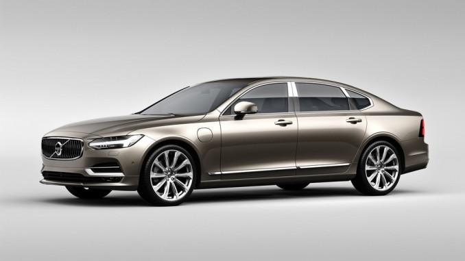 Volvos S90 Limousine in China lang oder luxuriös. © spothits/Hersteller