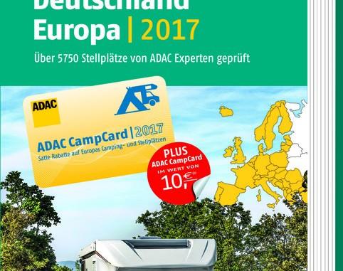 Der ADAC-Stellplatzführer 2017 ist da. © spothits/ADAC