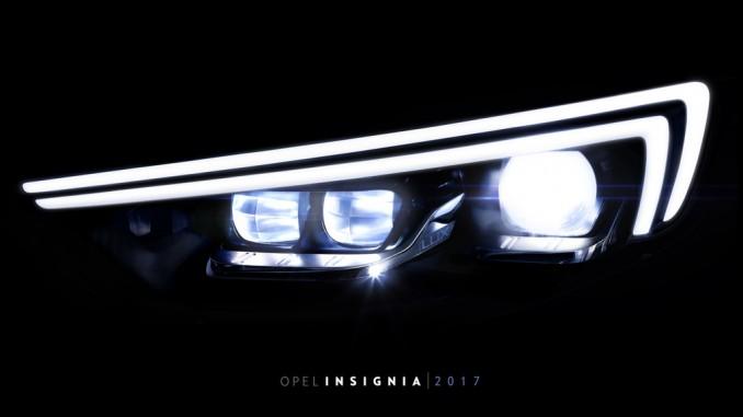 Opel Insignia bekommt nächste Intellilux-Generation. © spothits/Opel