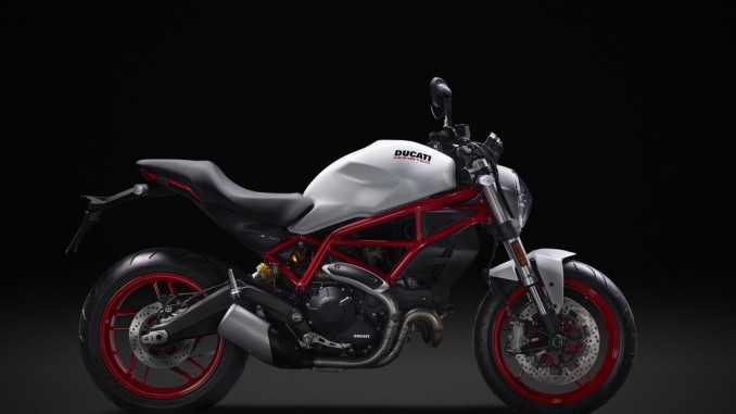 EICMA 2016: Ducati Monster stapelt etwas tiefer. © spothits/Ducati