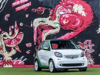 Smart Electric Drive: Kugelblitz im Art District. © spothits/Daimler
