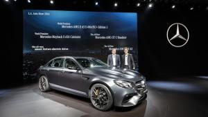 Los Angeles 2016: Mercedes-Benz E-Klasse mit bis zu 612 PS. © spothits/Daimler