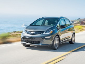 "Los Angeles 2016: Chevrolet Bolt ist ""Green Car of the Year 2017"". © spothits/Generla Motors"