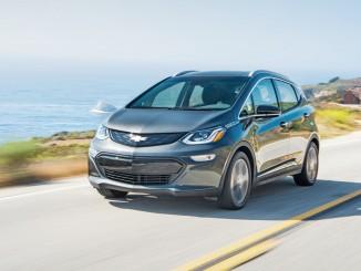 "Los Angeles 2016: Chevrolet Bolt ist ""Green Car of the Year 2017"". © spothits/Generla Motors"