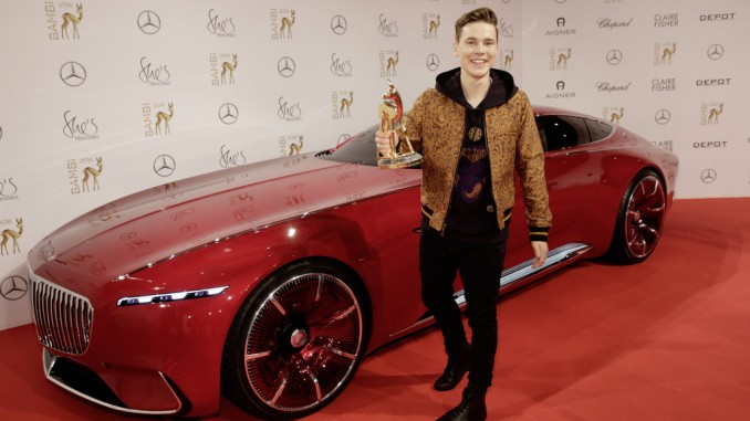 Bambi-Gewinner ist neuer Markenbotschafter von Mercedes-Benz. © spothits/BrauerPhotos/M. Nass für Mercedes-Benz