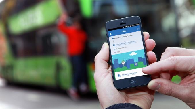 ZF-Mobilitäts-App jetzt auch mit Flixbus. © spothits/ZF