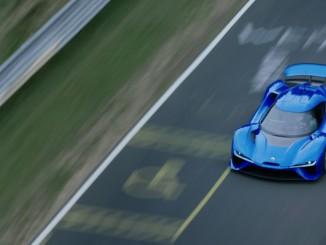 Das schnellste Elektroauto heißt Nio EP9. © spothits/Next EV