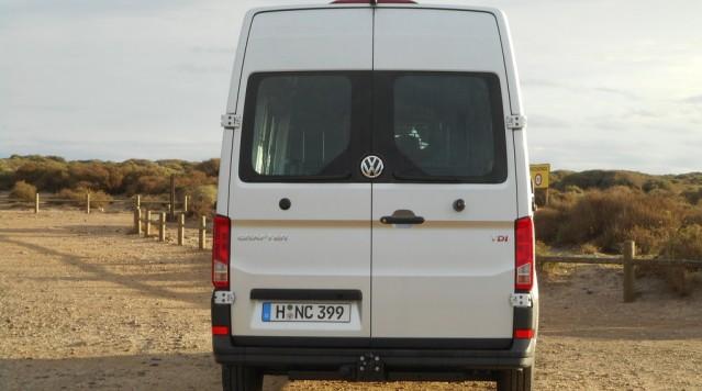 Volkswagen Crafter: Arbeitstier mit Pkw-Genen. © spothits/Auto-Medienportal