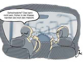 Ratgeber: Ältere Autofahrer sollten regelmäßig zum Sehtest. © Goslar Institut