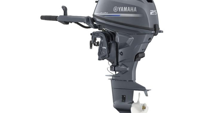 Yamaha F25G: Neuer Außenborder mit 25 PS. © spothits/Yamaha