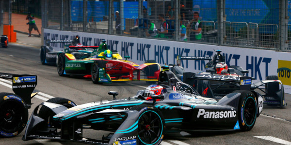 Panasonic Jaguar I-Type in Honglong. © spothits/Jaguar Land Rover