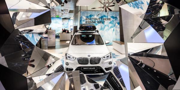 BMW-Welt bringt einen Blick in die Zukunft. © spothits/ampnet/BMW
