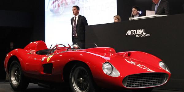 Ferrari 335 S Scaglietti. © spothits/ampnet/Artcurial