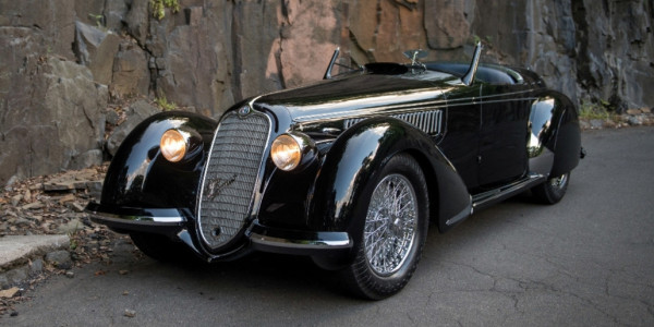 Alfa Romeo 8C 2900B Lungo Spider, 1939. © spothits/ampnet/Sotheby's