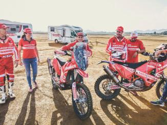 Rallye Dakar: Bürstner rüstet spanisches Motorradteam aus. © spothits/Bürstner