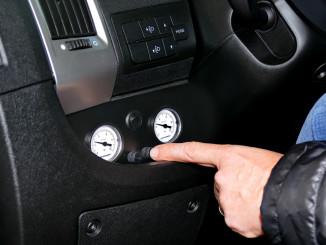 Fiat Ducato: Bedienung der Zusatzluftfeder an der Hinterachse. © spothits/Goldschmitt