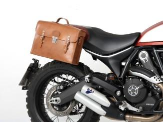 Retro-Aktentasche fürs Motorrad. © spothits/Hepco & Becker