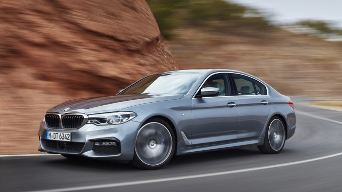 """BMW 5er ist """"Connected Car 2016"""". © spothits/BMW"""