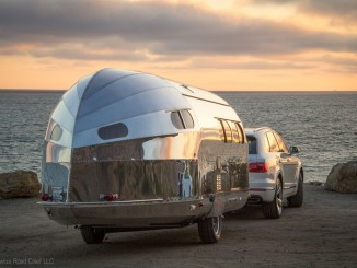 Bowlus Road Chief Lithium +: Hightech-Wohnwagen im Nostalgie-Design. © spothits/Bowlus