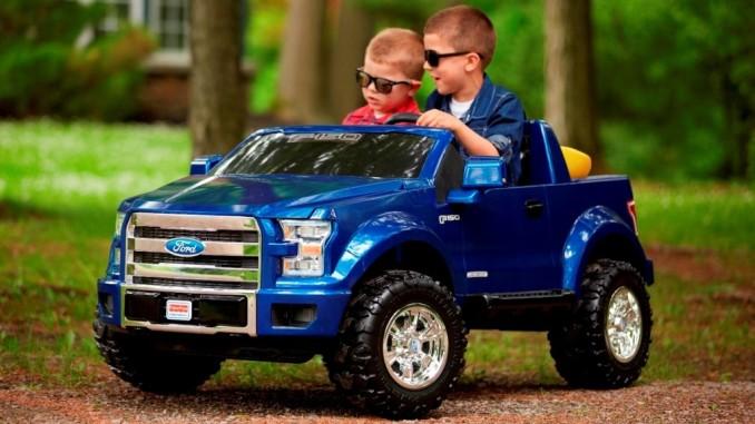 Ford Mustang für die Kleinen: Früh übt sich. © spothits/Ford