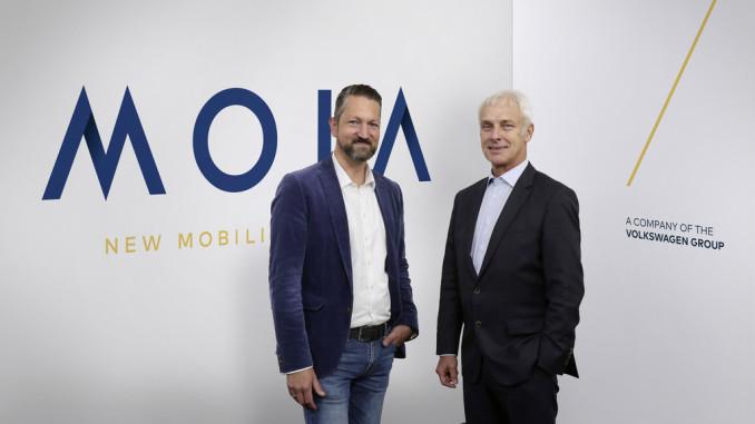 Volkswagen-Konzern gründet MOIA. © spothits/Volkswagen