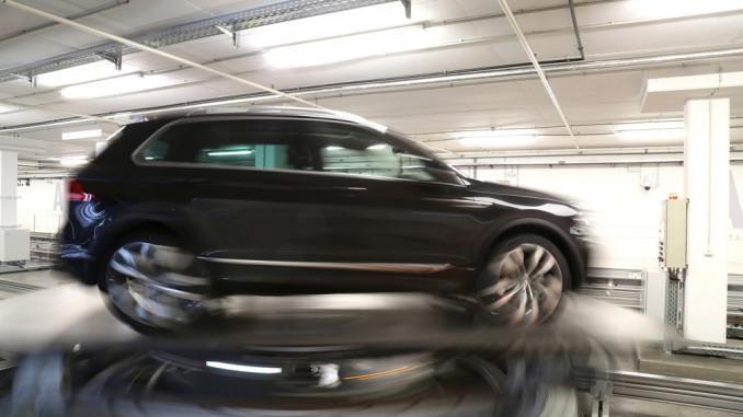 Hinter den Kulissen: Blick in die Fahrzeugauslieferung der Autostadt. © spothits/Auto-Medienportal/Autostadt/Leitzke