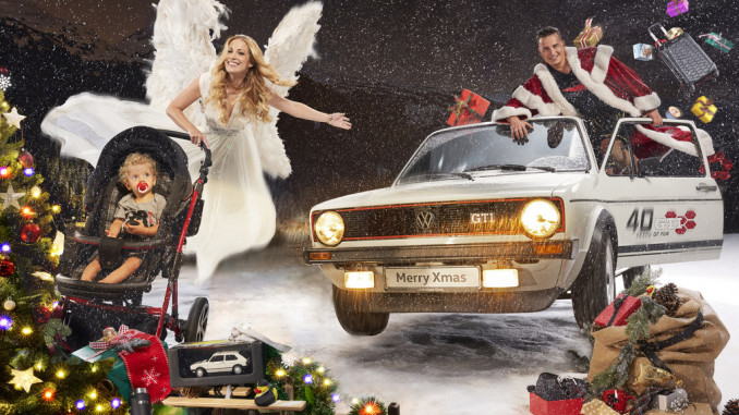 VW präsentiert GTI-Kollektion zum Verschenken. © spothits/Volkswagen