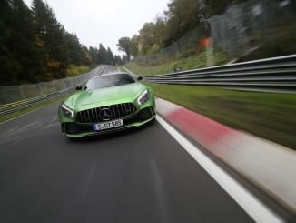 Mercedes-AMG GT R legt Bestzeit hin. © spothits/Daimler