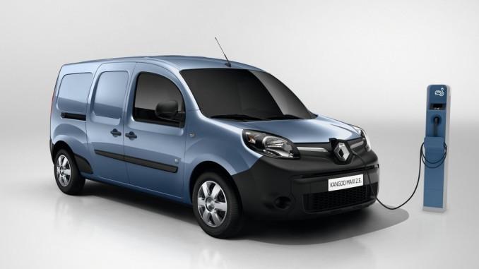 Renault erhöht Reichweite des Kangoo Z.E. © spothits/Renault