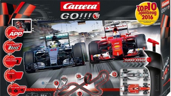 Carrera Go mit Boxenstopp und Smartphone. © spothits/Auto-Medienpirtal.Net