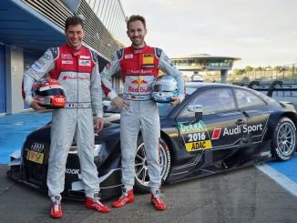 Audi geht mit zwei Neuzugängen in die DTM-Saison. © spothits/Auto-Medienportal/Audi