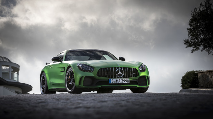 Mercedes-AMG GT R: Der Commander-in-Chief. © spothits/Auto-Medienportal/Daimler